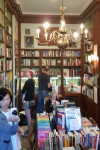 Inside William Faulker's house turned bookstore and museum.